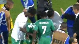 Mundial de Clubes: jugadores se enfrentan por los chimpunes de Ronaldinho