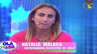 Natalia Málaga: Cuando manejo el 'guantazo' los carros se me corren