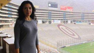 Rocío Chávez: al frente de la 'U' he conseguido dos de las tres metas trazadas