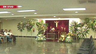Los restos del actor Aristóteles Picho son velados en el Museo de la Nación