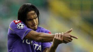 La Fiorentina de Juan Manuel Vargas venció a Sassuolo por 1-0