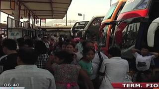 Fiori: Pasajes al interior del país se incrementan hasta en 300%