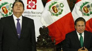 GFK: Alejandro Toledo y Alan García son los líderes con mayor desaprobación