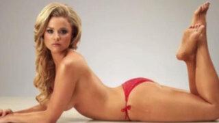 VIDEO: Photoshop y la increíble transformación de una bella modelo en Papá Noel