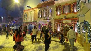Recorra la Villa de Papa Noel en Centro Comercial Plaza Norte