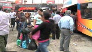 Bajan precios de pasajes en Fiori y Yerbateros por vísperas a Navidad