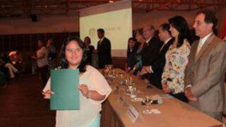 San Isidro: joven con síndrome de Down fue elegida dirigente vecinal