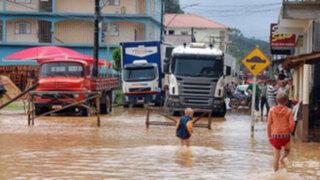 Al menos 38 muertos y casi 50 mil evacuados por inundaciones en Brasil