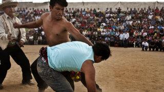 Cusco: a puño limpio celebraron tradicional fiesta del 'Takanacuy'