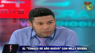 Willy Rivera cuenta detalles de su evento musical 'El Tonazo de Año Nuevo'
