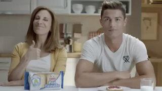 Cristiano Ronaldo se cambió de nombre para grabar nuevo spot publicitario