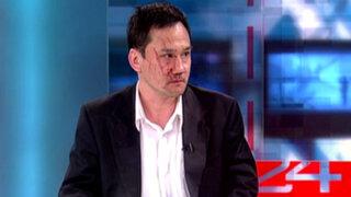 Viceministro de Economía José Gasha Tamashiro negó haber agredido a su esposa