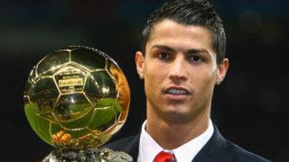 Balón de Oro: Cristiano Ronaldo cree merecer galardón de la FIFA todos los años
