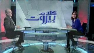 Líbano: conductores de televisión se llevaron gran susto durante atentado