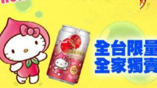 Compañia taiwanesa lanza al mercado cerveza de 'Hello Kitty'