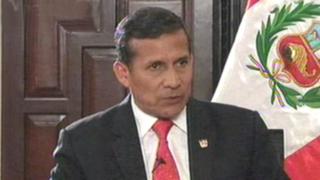 Presidente Ollanta Humala pide no especular en torno al fallo de La Haya