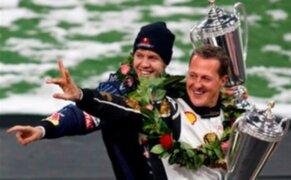 Vettel a Schumacher: Este es el GP más importante de tu vida y lo vas a ganar