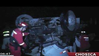 Chofer de camión cisterna murió tras caer al río Rímac en Chosica