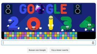 """Google se despide del año 2013 con un singular  """"doodle"""""""