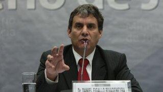 Ministro Daniel Figallo aseguró que no es ilegal el negocio de Carmen Omonte