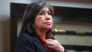 """Martha Chávez: """"El objetivo fundamental es que Keiko sea presidenta"""""""