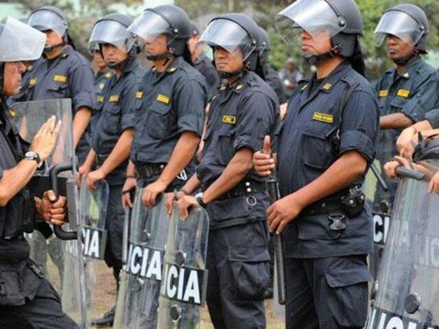 Más de 2000 policías administrativos saldrán a resguardar calles por Navidad