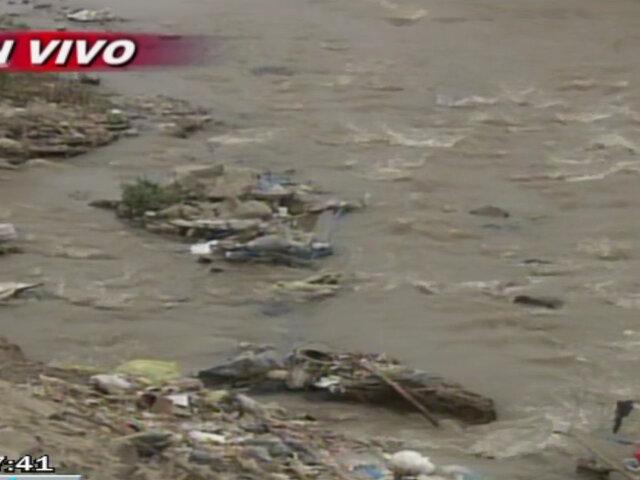 Empresas constructoras generan alto grado de contaminación en río Chillón