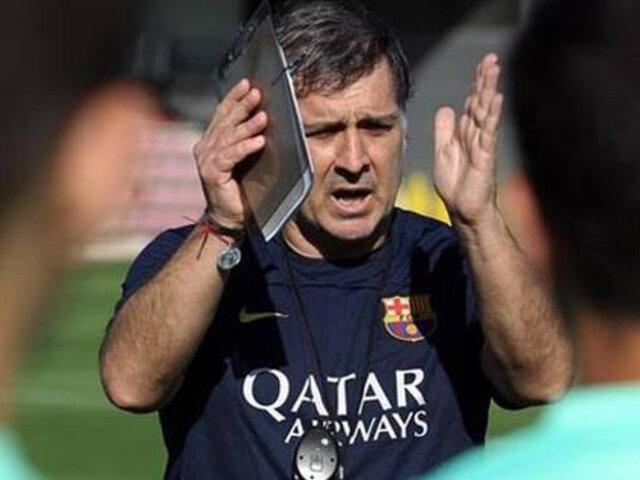 Barcelona: conoce quién reemplazaría a Gerardo Martino tras el Mundial