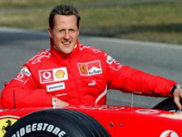 Michael Schumacher, el mejor piloto de Fórmula 1, quedó en estado de coma