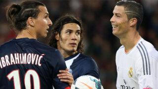 Real Madrid venció 1-0 al PSG y 'CR7' nuevamente festejó ante Ibrahimovic