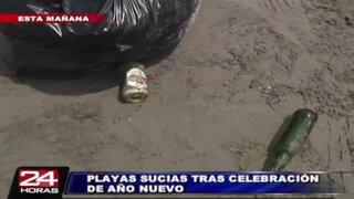 Así luce la playa Los Yuyos de Barranco tras celebraciones de Año Nuevo