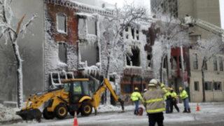 EEUU: Al menos 14 heridos dejó explosión en edificio ocupado por somalíes