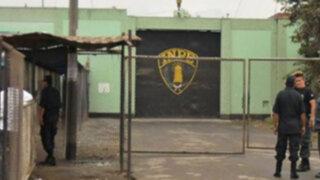 Declaran en emergencia centro penitenciario de Chiclayo por su alta peligrosidad