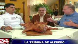 La Tribuna de Alfredo: Lechón crocante, pollo y más en la Caja China Criolla