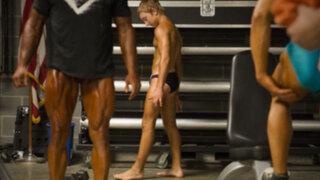 FOTOS: conoce al levantador de pesas que triunfa con tan solo 14 años