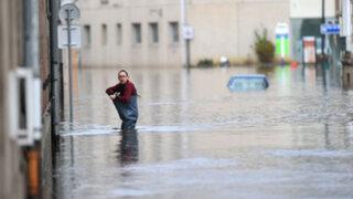 Fuertes lluvias, vientos e inundaciones azotan varias zonas del Reino Unido