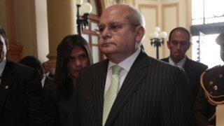 Piden  salida de ministro Cateriano por mentir sobre peritaje al audio 'luz verde'