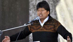 Bolivia: Presidente Evo Morales autoriza derribo de aviones del narcotráfico