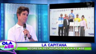 La Capitana nos presenta al campeón mundial de longboard, Piccolo Clemente