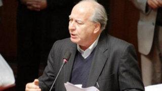 Manuel Dammert presentará proyecto de ley sobre concentración de medios