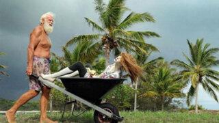 FOTOS: el millonario que lo perdió todo y ahora vive en una isla desierta