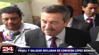 Caso López Meneses: Raúl Salazar y Luis Praeli declaran este miércoles
