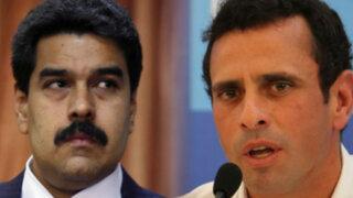 Violencia en Venezuela hace que Maduro y Capriles dejen de lado sus diferencias