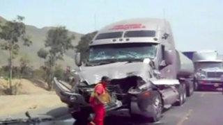 Accidentes de carreteras dejaron tres muertos en el interior del país