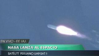 VIDEO: Así fue el lanzamiento del satélite peruano UAP SAT-1