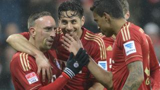 VIDEO: Claudio Pizarro anota golazo en el triunfo del Bayern Munich