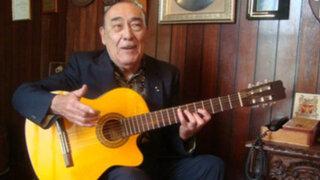 Oficiarán misa por salud del guitarrista peruano Óscar Avilés