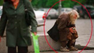 Mendigo donó 40 mil euros para pagar deudas de un orfanato en Bulgaria