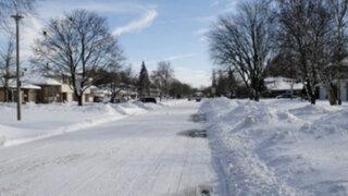 Canadá: tormenta polar cobró una nueva víctima que falleció de hipotermia