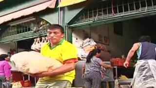 Municipio del Rímac inicia recuperación de exteriores de mercado Caquetá